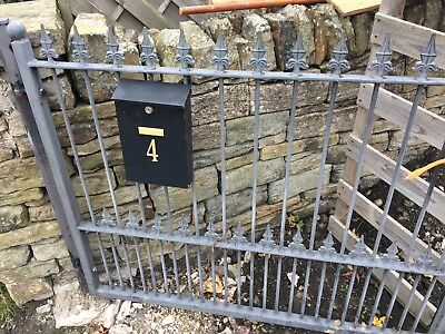 Metal Driveway Garden gates- great condition