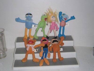 MMHMT1 7 DIFF. McDonald's Muppets Happy Meal Toys 2003