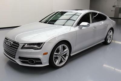 2014 Audi S7  2014 AUDI S7 4.0T AWD SUNROOF HTD SEATS NAV 20'S 24K MI #085030 Texas Direct