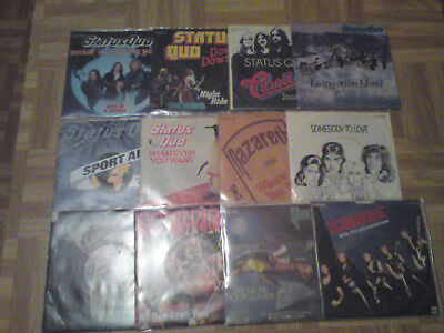 Single Sammlung Queen Status Quo Rainbow Nazareth