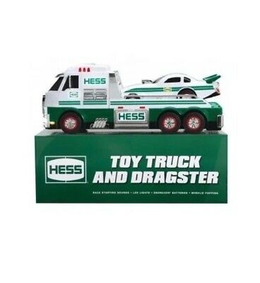 2016 HESS TRUCK TOY Dragster Car-BRAND NEW NIB **FREE SHIPPING**