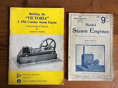 Model Steam Engine Books Building The Victoria Maintenance Pamphlet