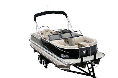 Winter Sale-New  22 Ft Tahoe LTZ Tritoon with 150 and trailer