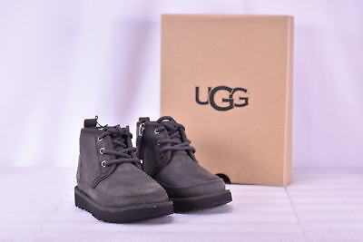 Toddler Boy's Ugg 1017322T/CHRC Neumel II Chukka Boots Charcoal