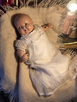~ Harder To Find! Composition Effanbee LAMKINS Baby Doll ~