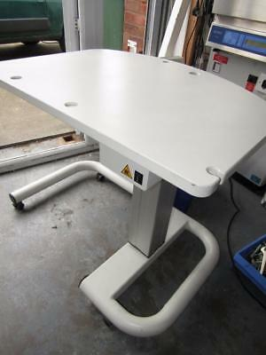 Electric Rise And Fall Opticians Table.