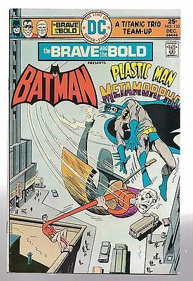The Brave and the Bold #123 (Dec 1975, DC) Very nice copy