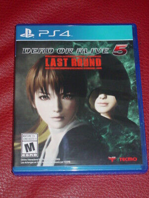 Dead or Alive 5: Last Round (Sony PlayStation 4)