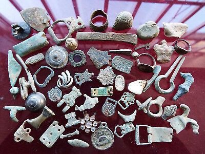 """ELK""""  VERY LARGE group ROMAN to MEDIEVAL and later  ARTEFACTS found Suffolk"""