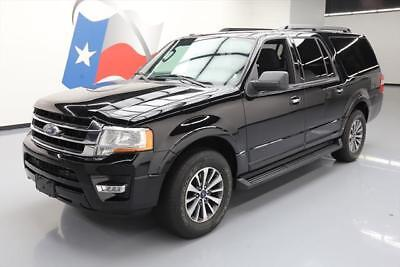 2016 Ford Expedition  2016 FORD EXPEDITION EL XLT ECOBOOST 8PASS REAR CAM 45K #F36709 Texas Direct