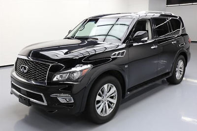 2016 Infiniti QX80  2016 INFINITI QX80 AWD THEATER SUNROOF NAV DVD 20'S 38K #123291 Texas Direct