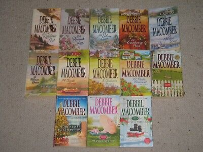 Cedar Cover by Debbie Macomber COMPLETE SET 1225 Christmas Tree Lane FREE SHIP!!