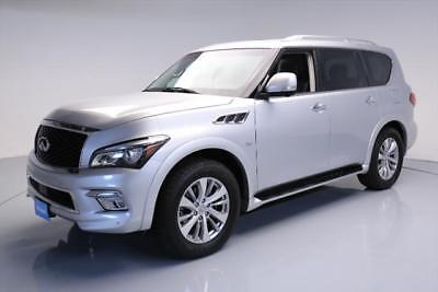 2017 Infiniti QX80 Base Sport Utility 4-Door 2017 INFINITI QX80 7-PASS SUNROOF NAV 360 CAM 20'S 29K #640045 Texas Direct Auto
