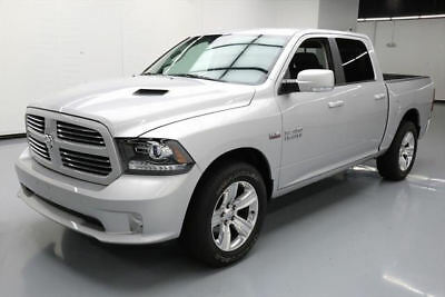 2016 Dodge Ram 1500 Sport Crew Cab Pickup 4-Door 2016 DODGE RAM 1500 SPORT CREW HEMI HTD SEATS 20'S 9K #369165 Texas Direct Auto
