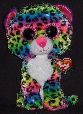 "TY BEANIE BOOS - DOTTY the 9"" DOG - MINT with MINT TAG (MEDIUM)"