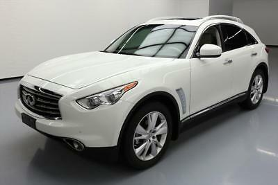 2013 Infiniti FX Base Sport Utility 4-Door 2013 INFINITI FX37 DELUXE TOURING SUNROOF NAV 20'S 64K #140915 Texas Direct Auto