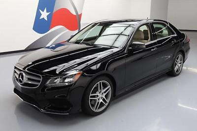 2015 Mercedes-Benz E-Class Base Sedan 4-Door 2015 MERCEDES-BENZ E350 SEDAN SPORT P1 SUNROOF NAV 32K #156709 Texas Direct Auto