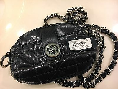 Bebe Exotic Quilted Crossbody