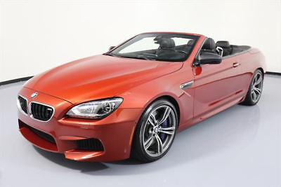 2014 BMW M6 Base Convertible 2-Door 2014 BMW M6 CONVERTIBLE M DCT EXECUTIVE NAV HUD 22K MI #Z78456 Texas Direct Auto