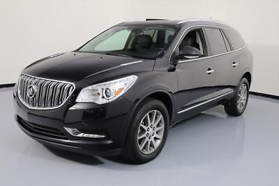 2015 Buick Enclave Leather Sport Utility 4-Door 2015 BUICK ENCLAVE HTD LEATHER DUAL SUNROOF NAV 34K MI #125750 Texas Direct Auto