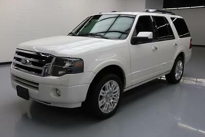 2013 Ford Expedition Limited Sport Utility 4-Door 2013 FORD EXPEDITION LTD 8-PASS SUNROOF NAV 20'S 71K MI #F28900 Texas Direct