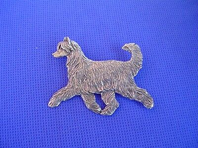 Puff Chinese Crested Pewter PIN TROTTING #22D Toy Dog Jewelry Cindy A. Conter