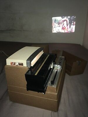 Rare Vintage Airequipt Superba 44a Slide Projector Working Collectible 1960's