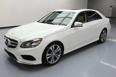 2014 Mercedes-Benz E-Class Base Sedan 4-Door 2014 MERCEDES-BENZ E350 SPORT SEDAN P1 SUNROOF NAV 22K #042277 Texas Direct Auto