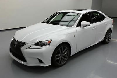 2015 Lexus IS  2015 LEXUS IS250 F-SPORT SUNROOF REAR CAM CLIMATE SEATS #055127 Texas Direct