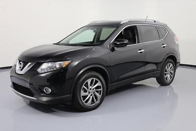 2015 Nissan Rogue  2015 NISSAN ROGUE SL HTD LEATHER NAV 360 CAM ALLOYS 21K #868388 Texas Direct