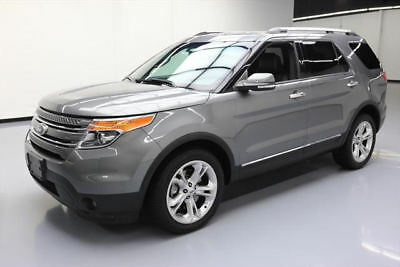 2014 Ford Explorer Limited Sport Utility 4-Door 2014 FORD EXPLORER LTD AWD 7-PASS LEATHER REAR CAM 48K #B91585 Texas Direct Auto