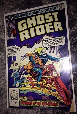 "Ghost Rider Original Series #61 ""Prisoner of The Hellspawn!"" Sharp VF-NM!!!"