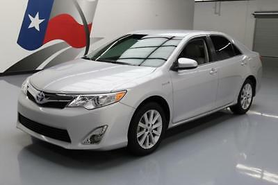 2012 Toyota Camry  2012 TOYOTA CAMRY XLE HYBRID REAR CAM ALLOY WHEELS 64K #037919 Texas Direct Auto