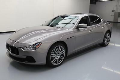 2014 Maserati Ghibli Base Sedan 4-Door 2014 MASERATI GHIBLI SUNROOF NAV HTD SEATS 20'S 26K MI #127879 Texas Direct Auto