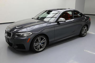 2015 BMW 2-Series Base Coupe 2-Door 2015 BMW M235I XDRIVE COUPE AWD SUNROOF NAV REARCAM 30K #X99148 Texas Direct
