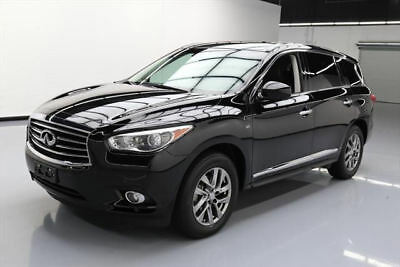 2014 Infiniti QX60 Base Sport Utility 4-Door 2014 INFINITI QX60 PREM PLUS 7-PASS SUNROOF NAV 60K MI #524967 Texas Direct Auto