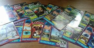 Ultimate Real Robots magazines learn about robots x 15 issues