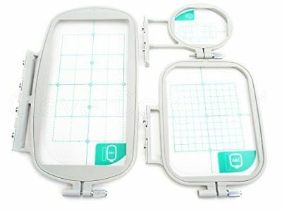 3-Piece Embroidery Hoop Set for Brother Machines SE400 PE500 LB6800 ---- SE270D