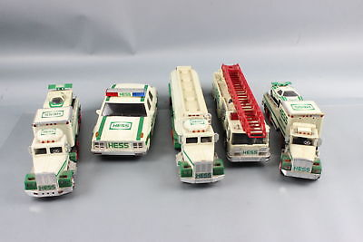 Lot of Hess Toy Trucks and Cars, Loose, 1988 and on