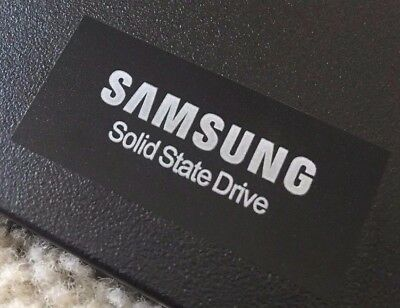 Samsung SSD Sticker Case Badge Logo Solid State Drive - EVO Pro 35mm x 13mm