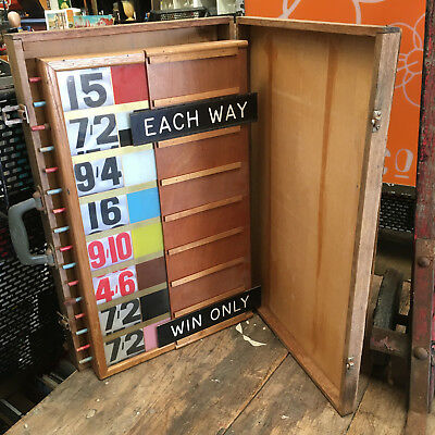 mancave item Bookrmakers bookies portable betting board