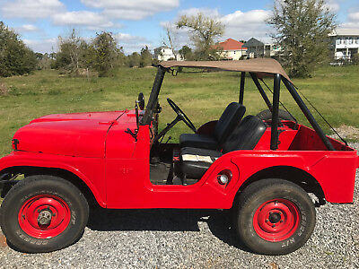 1955 Willys 439  1955 Jeep Willys