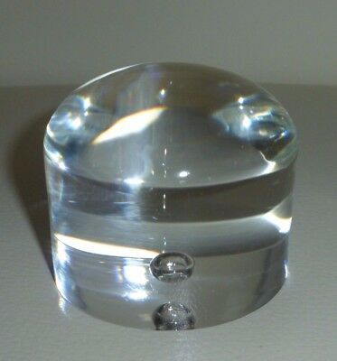 STEUBEN GLASS Bottom of Pillar Bowl (Can Be Used as a Paperweight)