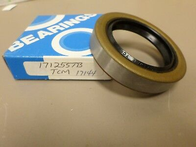 TCM 171255TB Oil Seal Replaces NAT'L 473336 C/R 17144