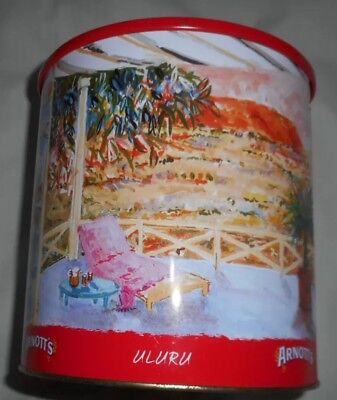 ARNOTT'S CANISTER BISCUIT TIN AUSTRALIA 2000 495g-Not Available Anymore-Rare