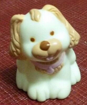 Fisher Price Loving Family Dream Dollhouse Cream Pet Puppy Dog Doggy