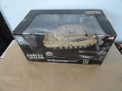 Forces of Valor Die-Cast U.S. M1A1 Abrams Tank Kuwait 1991 COLLECTOR'S ITEM new