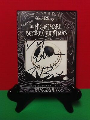 The Nightmare Before Christmas Signed by Tim Burton & Danny Elfman