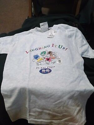 Size S Las Vegas M&M's t-shirt- new with tags