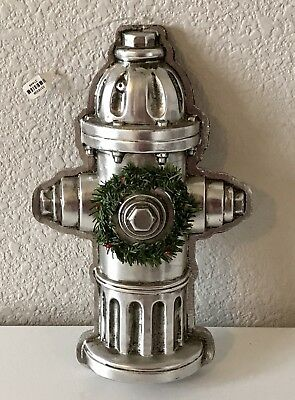 """New fire hydrant Christmas Ornament! Great for firemen or dog lovers! 11"""" x 7"""""""